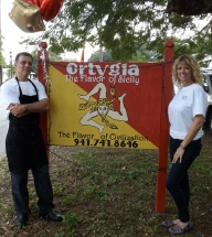 Special thanks to the Ortygia for preparing a wonderful lunch for the volunteers.